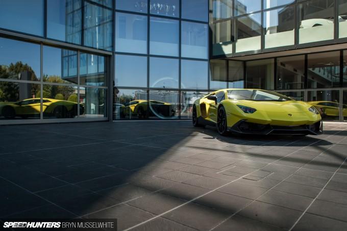 Lamborghini Factory Italy Aventador production line-39