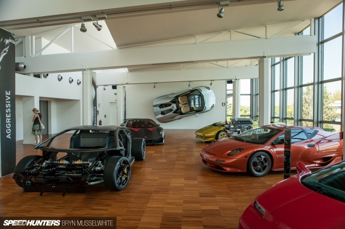 Lamborghini Factory Italy Aventador production line-43