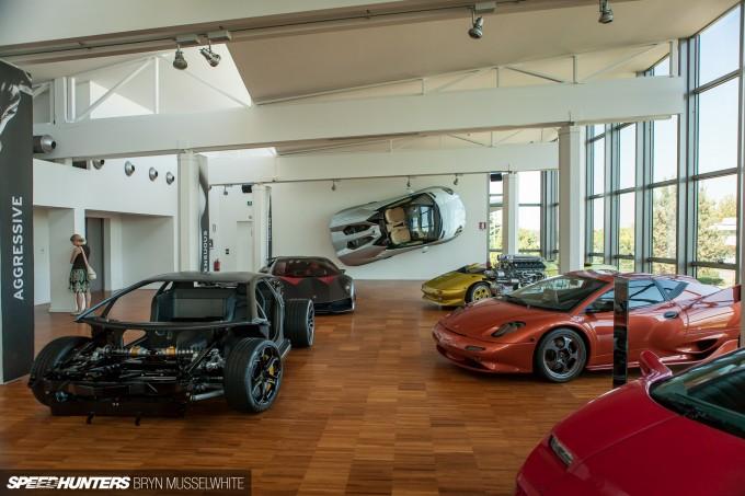 Lamborghini Factory Italy Aventador production line-43