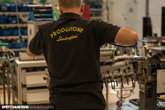 Lamborghini Factory Italy Aventador production line-6