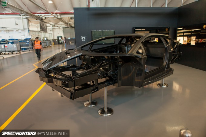 Lamborghini Factory Italy Aventador production line-7