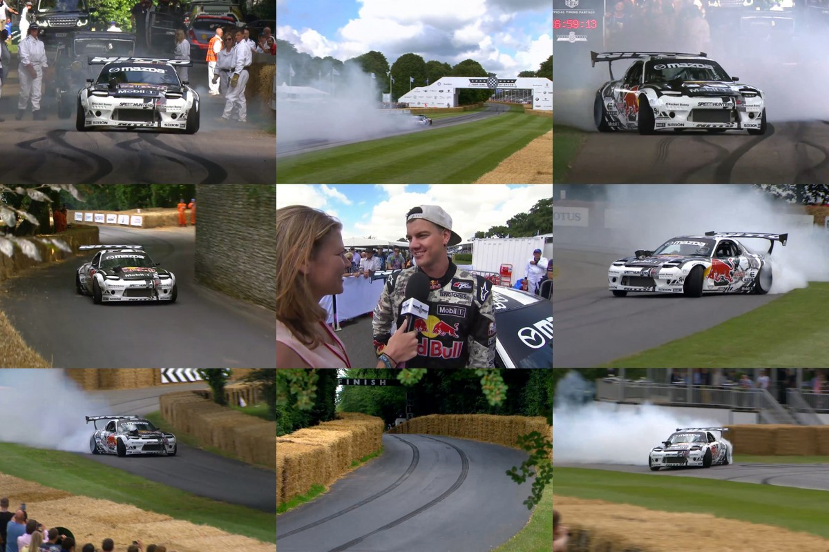 MADBUL Destroys The Goodwood Hill