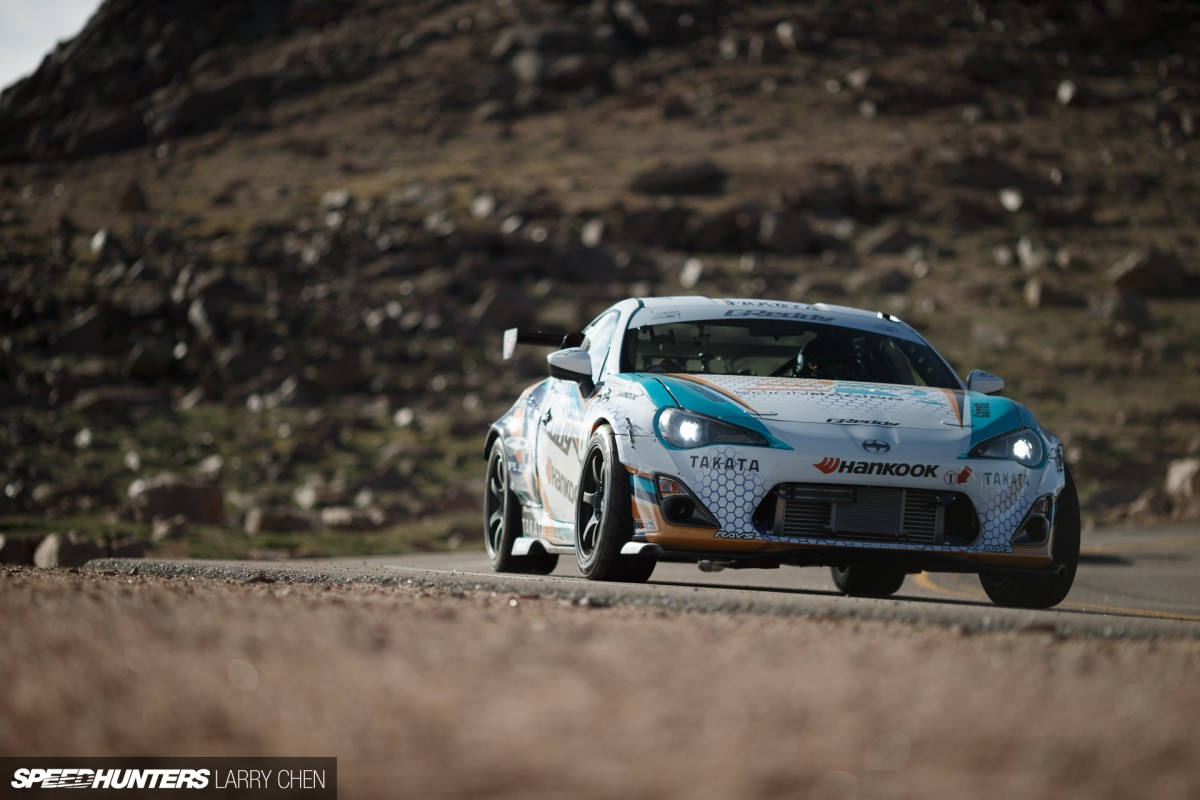 Pikes Peak: Not Just For Going Sideways