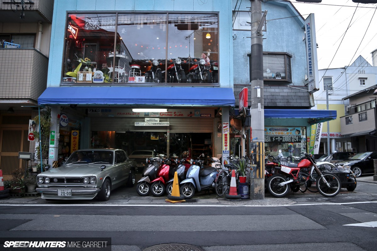 Garage life meet japan 39 s coolest dad speedhunters for Garage energy automobiles
