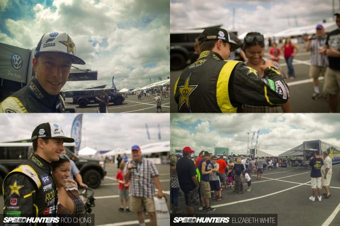 Rod Chong Elizabeth White GRC NYC Global Rallycross 2014-8062