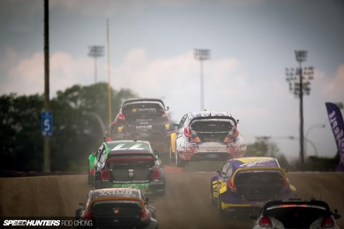 Rod Chong Elizabeth White GRC NYC Global Rallycross 2014-8267