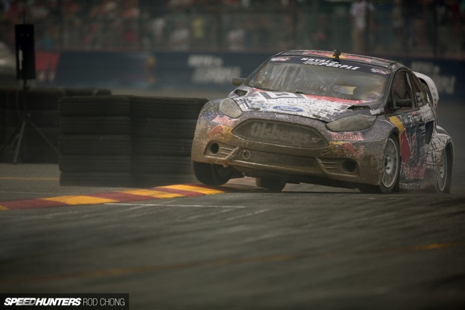 Rod Chong Elizabeth White GRC NYC Global Rallycross 2014-8285