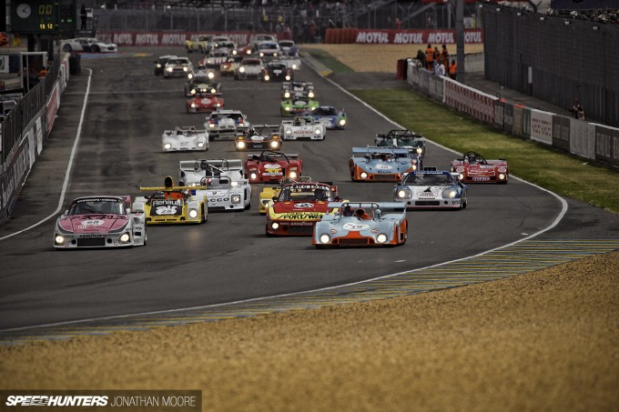 The 2014 edition of the biennial Le Mans Classic, celebrating cars that raced at the track between 1923 and 1979