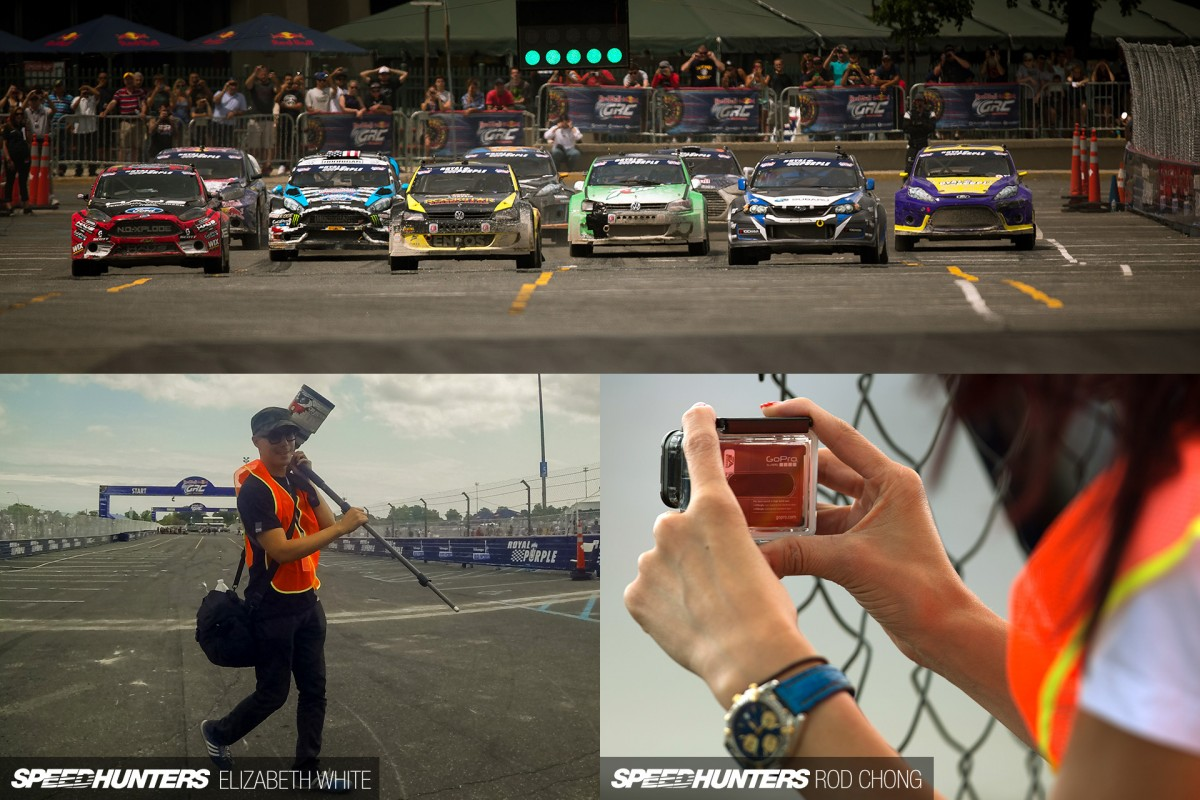 My Camera Is Bigger Than Your Camera:</br> A Look At Global Rallycross New York