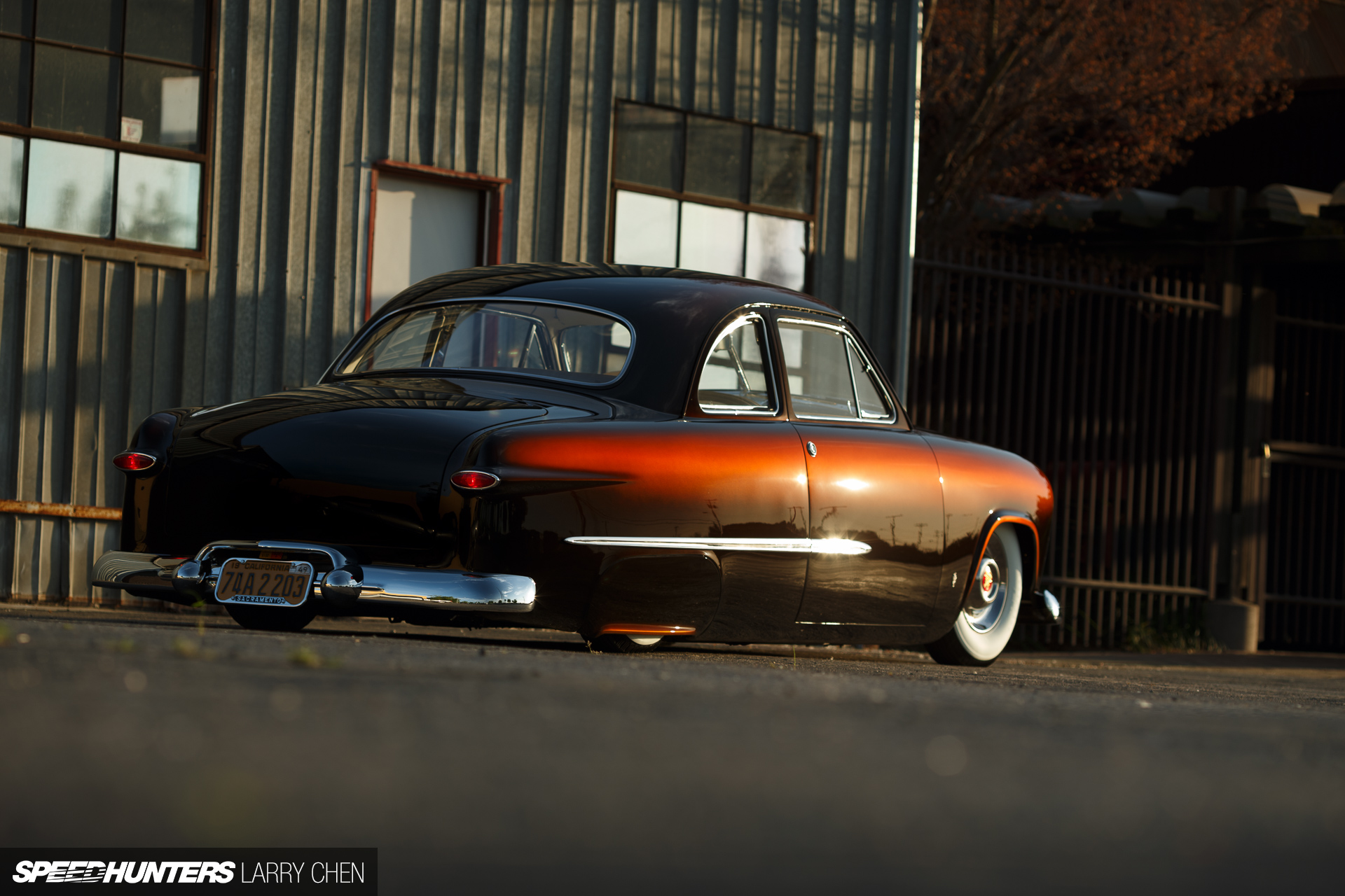 Larry Chen Speedhunters Sweet Brown Ford on 1951 chevy coupe classic car