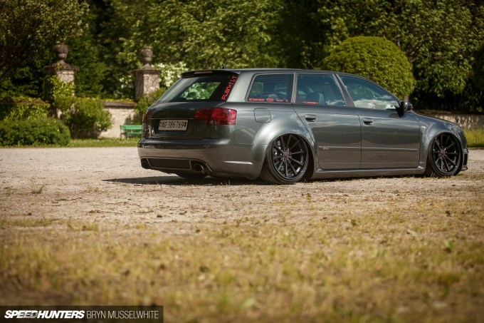 BS Carstyling Audi RS4 Worthersee Vossen -11