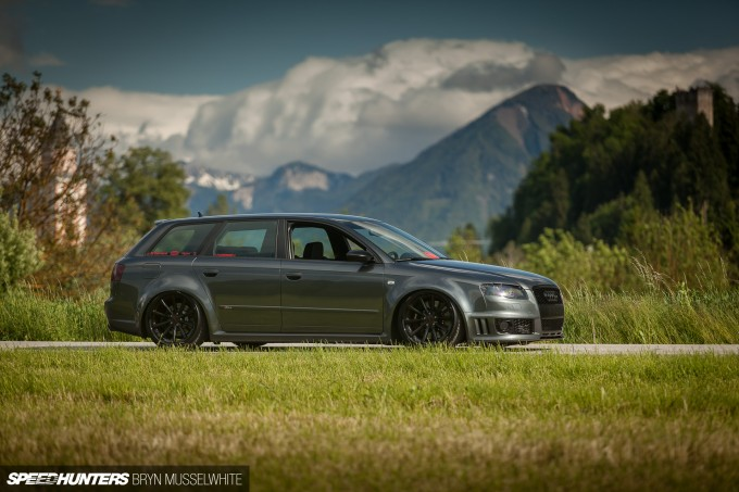 BS Carstyling Audi RS4 Worthersee Vossen -33