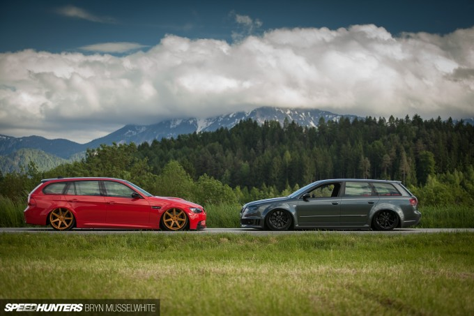 BS Carstyling Audi RS4 Worthersee Vossen -48