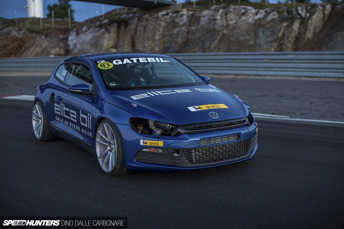 Full Drivetrain Swap: The Quattro Scirocco