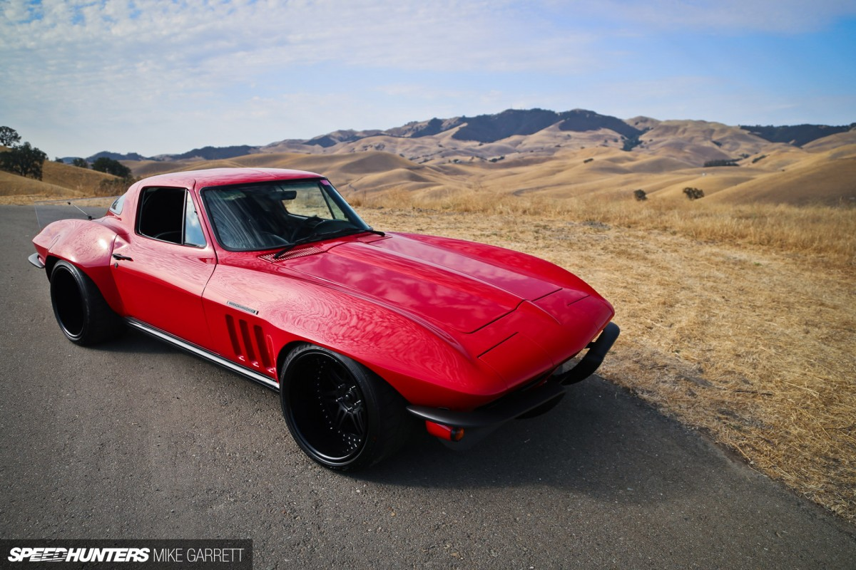 The Big Red Corvette Speedhunters