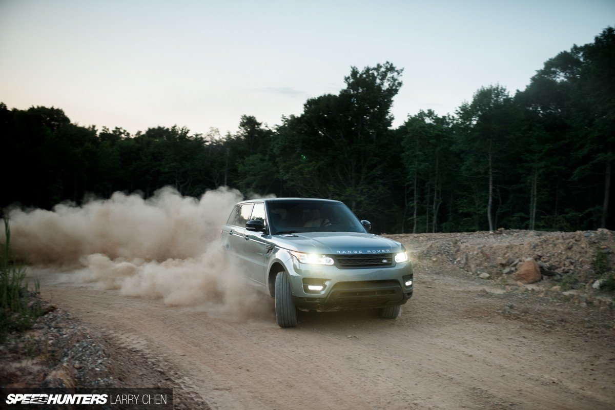 This Range Rover Likes ItDirty