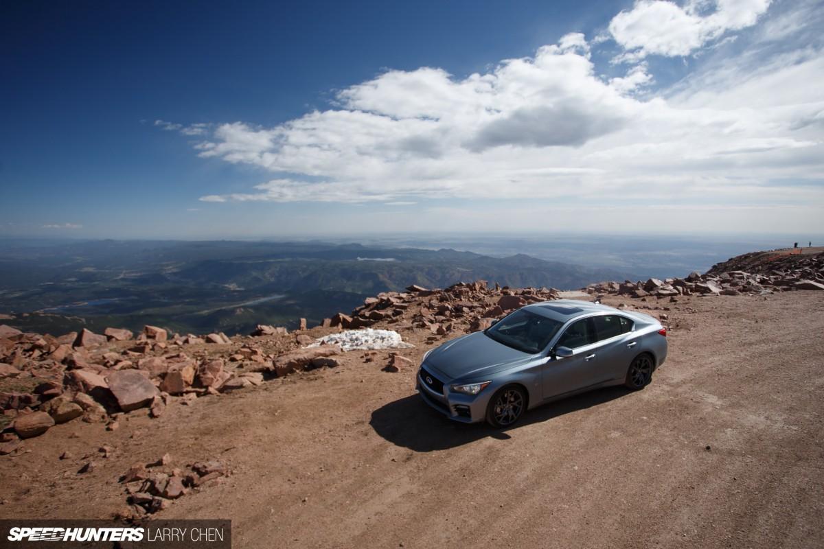 To Infiniti & Beyond: Pikes Peak In AQ50
