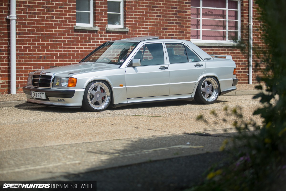 Carbs Only Diet A 190 Benz That Barks Speedhunters 1987 190e Mercedes Radio Wiring Harness Images Steve Howson Ukmercman Cosworth 10