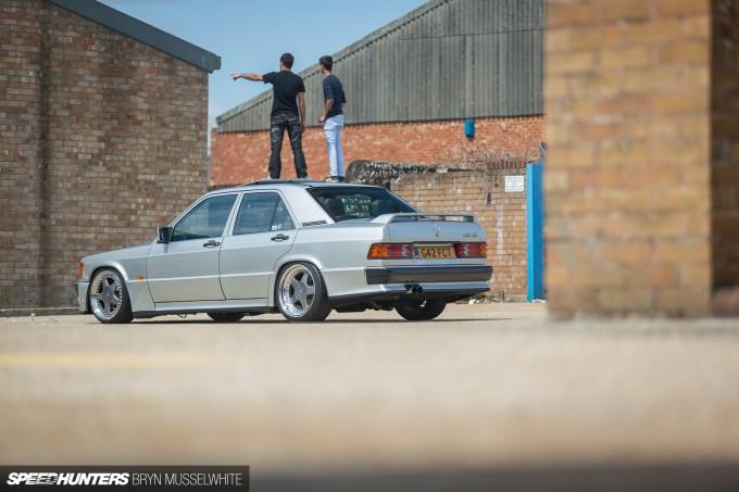 Steve Howson UKmercman 190 Cosworth-11