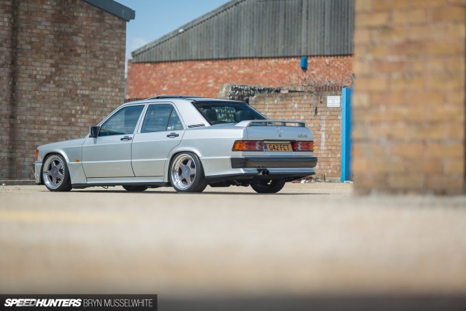 Steve Howson UKmercman 190 Cosworth-12