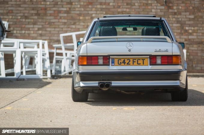 Steve Howson UKmercman 190 Cosworth-13