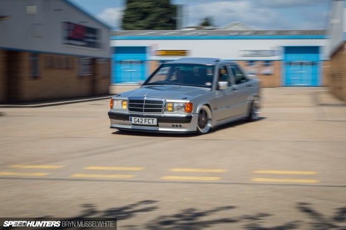 Steve Howson UKmercman 190 Cosworth-53