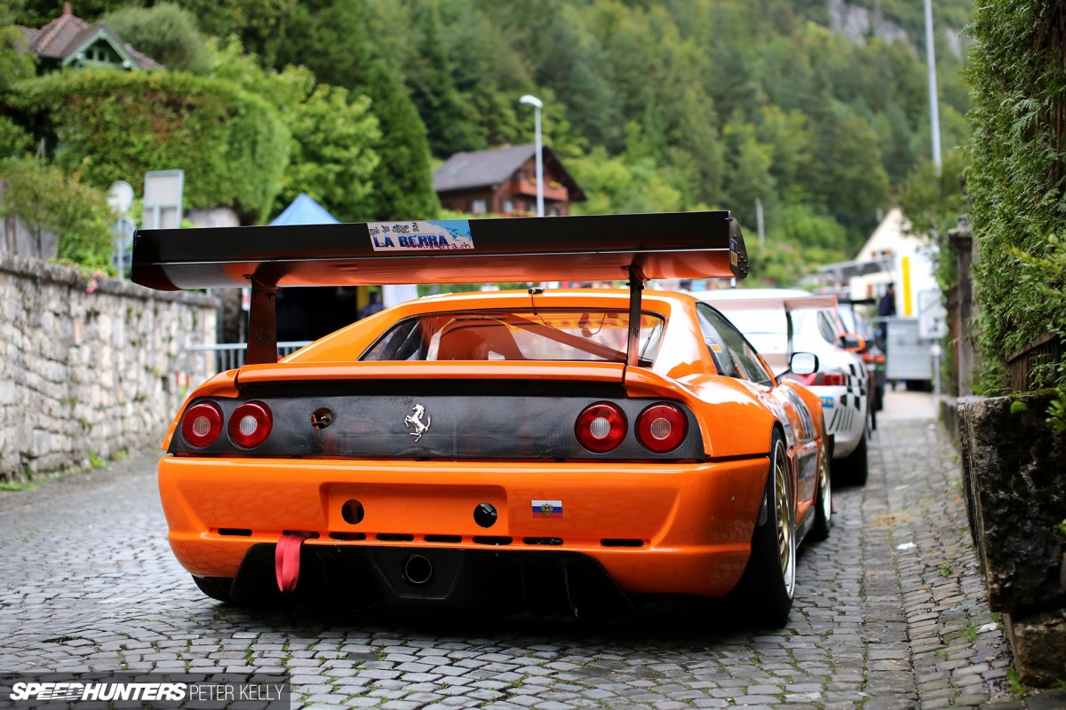 The Ferrari F355 Built To Climb