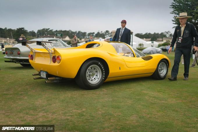 Ferrari Dino 206 Competizione Jim Glickenhaus Pebble Beach Concours 2014 Otis Blank 010
