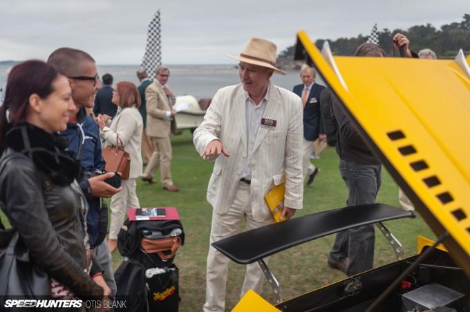 Ferrari Dino 206 Competizione Jim Glickenhaus Pebble Beach Concours 2014 Otis Blank 017