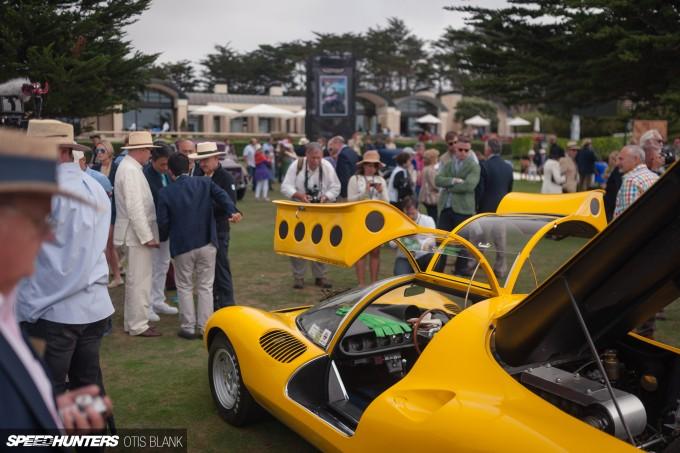 Ferrari Dino 206 Competizione Jim Glickenhaus Pebble Beach Concours 2014 Otis Blank 020