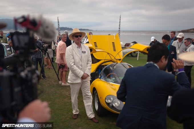 Ferrari Dino 206 Competizione Jim Glickenhaus Pebble Beach Concours 2014 Otis Blank 021