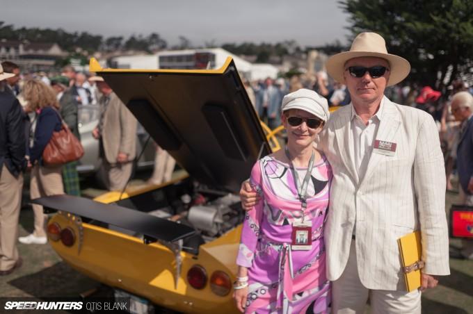 Ferrari Dino 206 Competizione Jim Glickenhaus Pebble Beach Concours 2014 Otis Blank 022