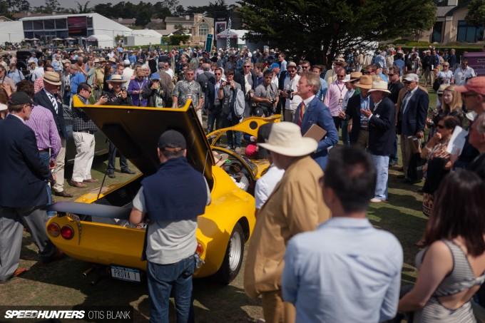 Ferrari Dino 206 Competizione Jim Glickenhaus Pebble Beach Concours 2014 Otis Blank 023