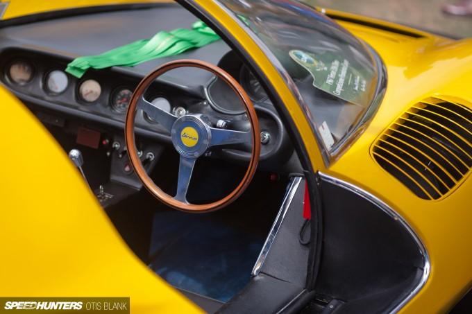 Ferrari Dino 206 Competizione Jim Glickenhaus Pebble Beach Concours 2014 Otis Blank 029