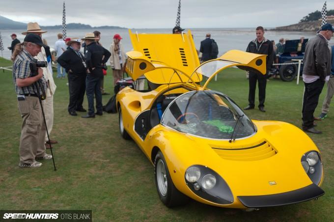 Ferrari Dino 206 Competizione Jim Glickenhaus Pebble Beach Concours 2014 Otis Blank 047