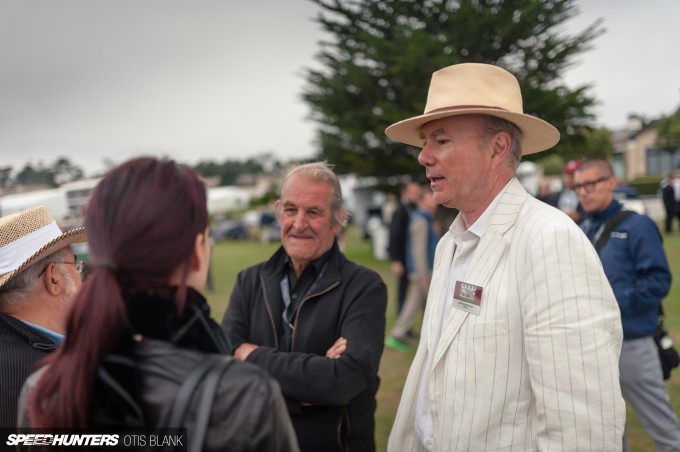 Jim Glickenhaus Interview Pebble Beach Concours 2014 Otis Blank 032
