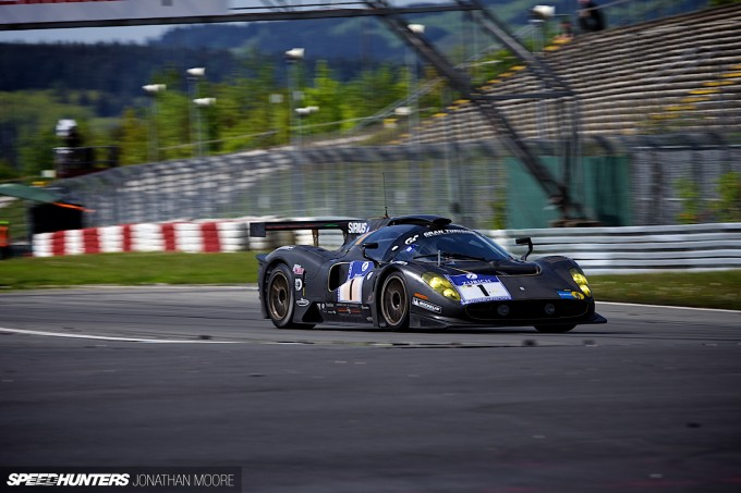 The 2012 running of the Nürburgring 24 Hours, the 40th anniversary of the event