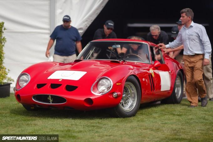 Ferrari 250 GTO Bonham's Monterey 2014 Otis Blank 042