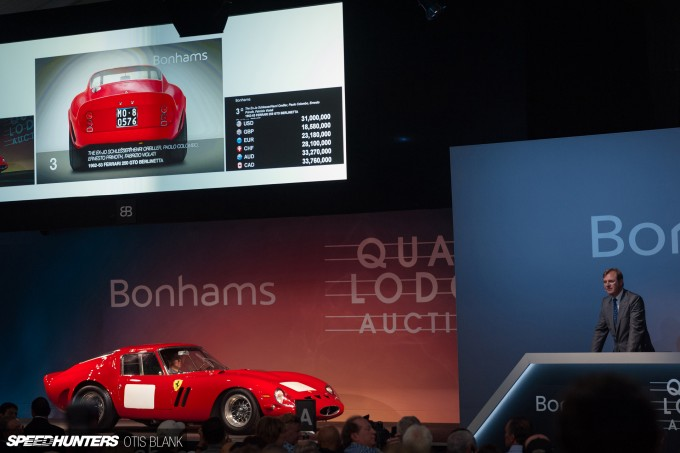 Ferrari 250 GTO Bonham's Monterey 2014 Otis Blank 048
