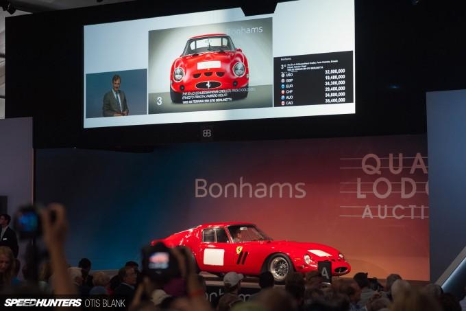 Ferrari 250 GTO Bonham's Monterey 2014 Otis Blank 049