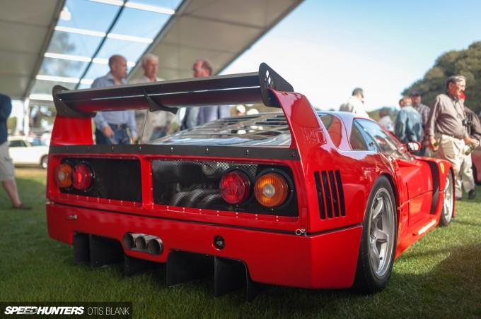 Ferrari F40 LM Bonham's Auction Monterey 2014 Otis Blank 091