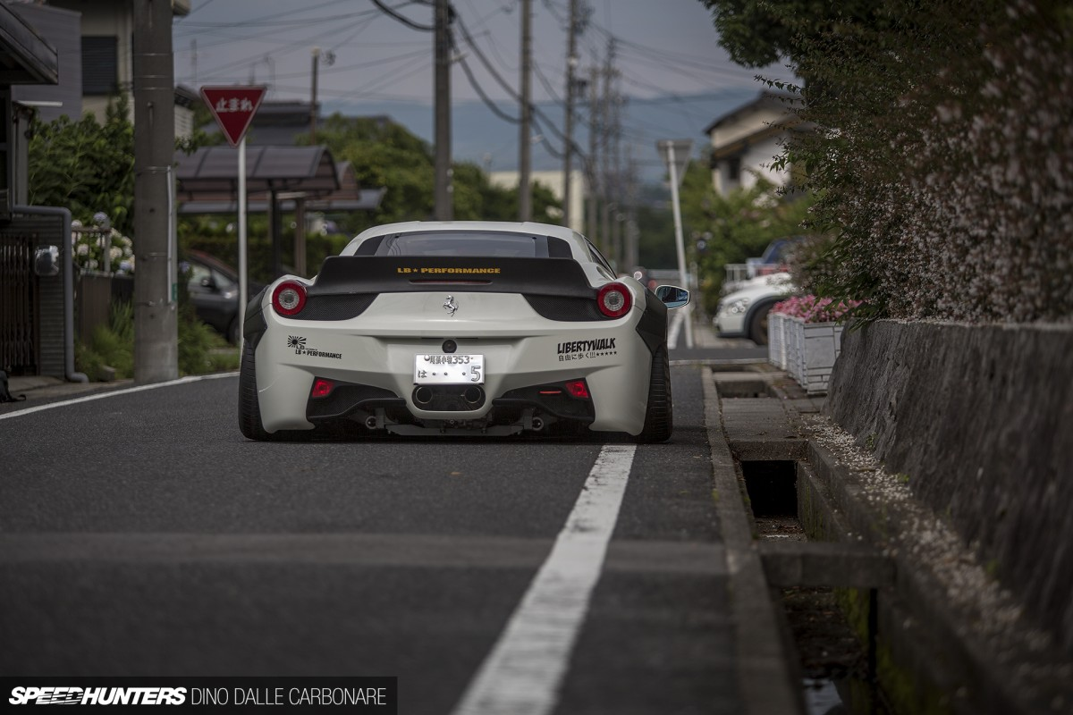 Liberty Walk & The 458 Challenge