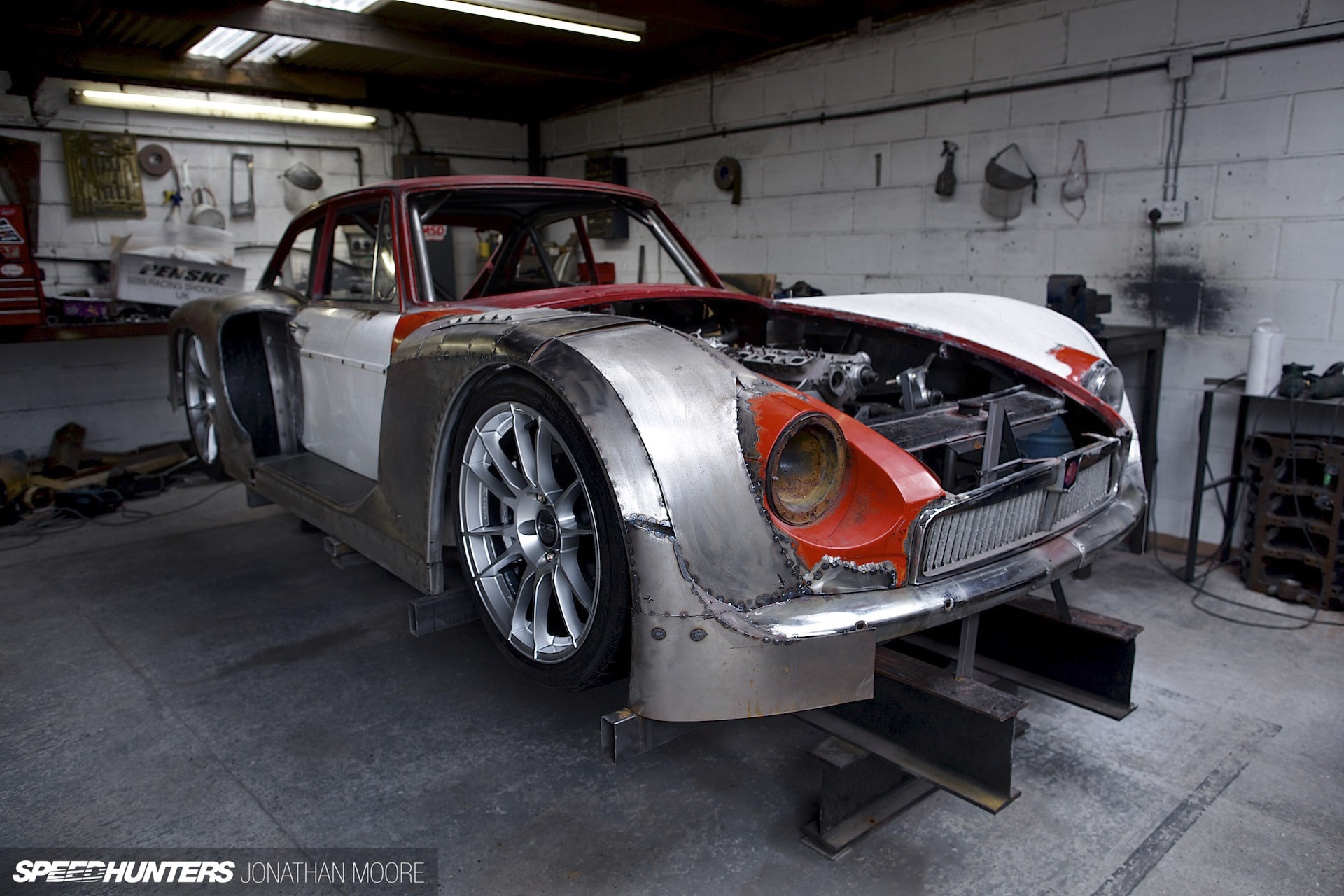 I\'m Sorry, You\'re Going To Do What With This MGB?! - Speedhunters