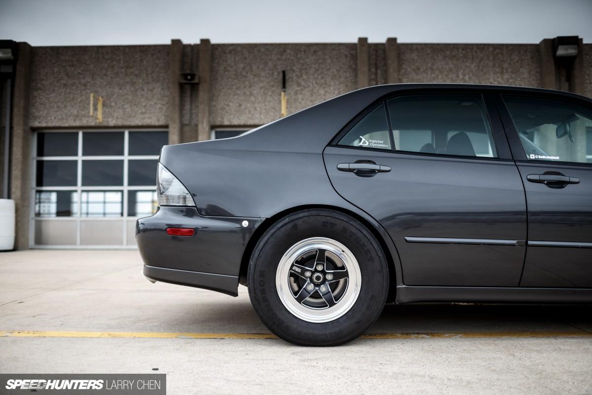 Larry Chen Speedhunters Drag Lexus Is X