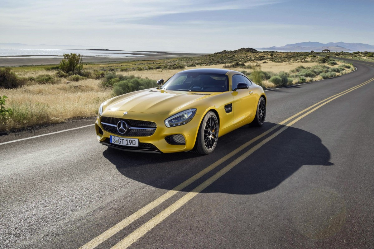 One Hot V8:</br> The New Mercedes-AMGGT