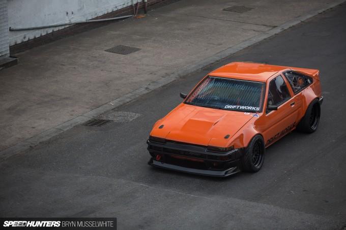 a Driftworks AE86 V8 -30