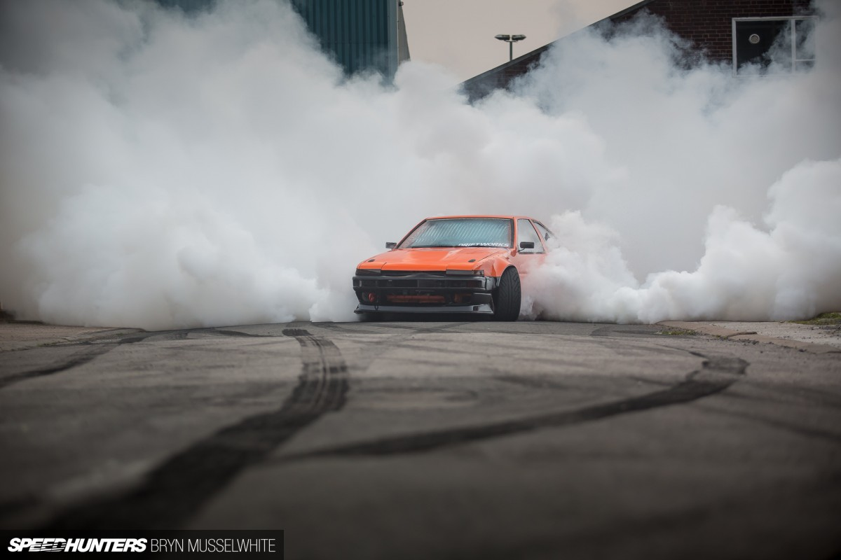 V8 Hachirockin': The Angriest 86Ever
