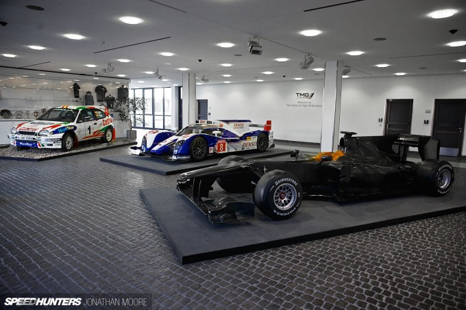 A tour of the Toyota Motorsports Group headquarters in Cologne, Germany, home to the Le Mans Prototype and World Rally Championships programmes