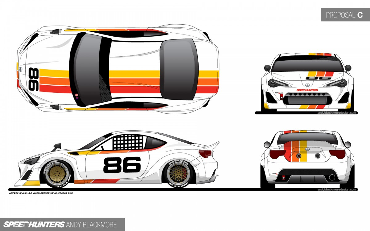Race Car Livery Design Template