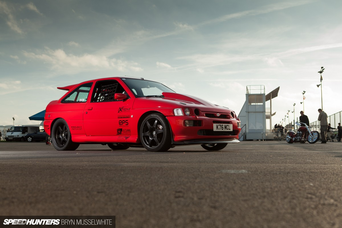 Playing It Safe:<br/>A Twin Turbo V8 Escort&nbsp;Cosworth